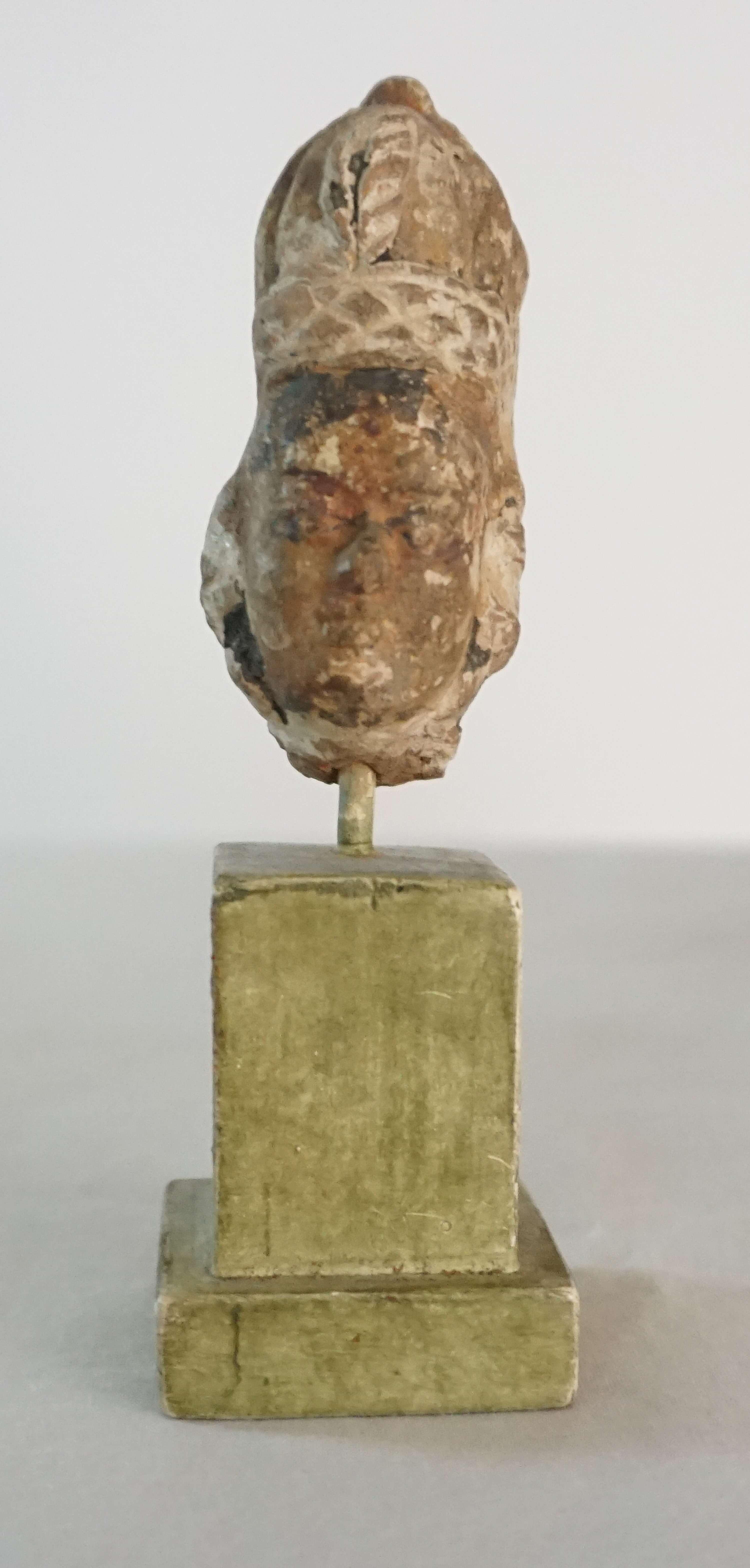 Gandharan Miniature Busts – Acroterion
